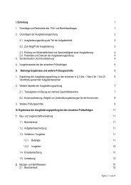 Ausgliederungsbericht vom 30.6.2004 - Brandenburg.de