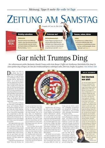 247. Ausgabe, ET 26.05.2018