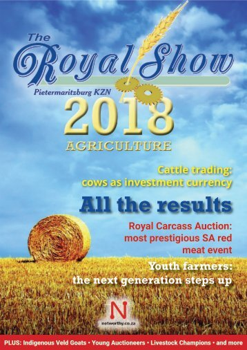 Royal Show Agricultural Guide 2018