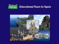 Book Educational Tours to Spain