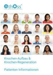 EthOss® Knochenaufbau - Patienteninformation
