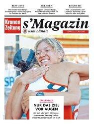 s'Magazin usm Ländle, 27. Mai 2018