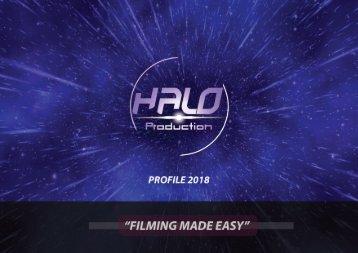 HALO PRODUCTIONS Brochure