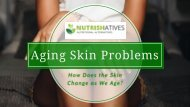 Skin Aging Problem and Effects