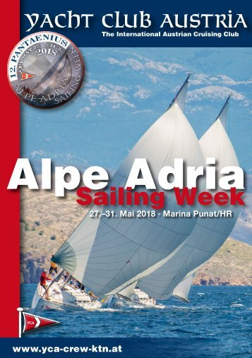 Alpe Adria Sailing Week 2018