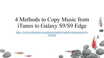 4 Ways to Transfer iTunes Music to Samsung S9S9+
