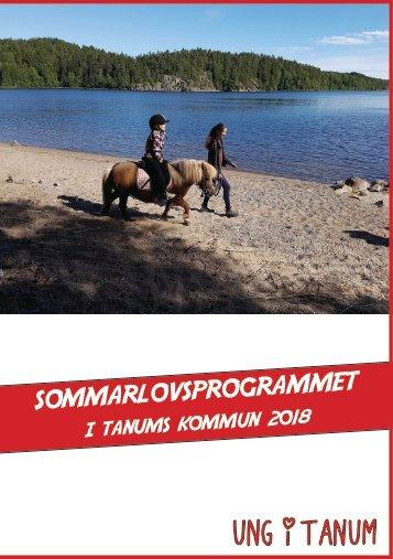 Sommarlovsaktiviteter i Tanums kommun 2018