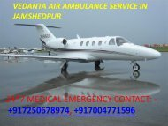 Vedanta Air Ambulance from Allahabad to Delhi is available for 24-Hour