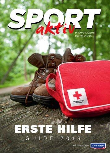 SPORTaktiv Erste Hilfe Guide 2018