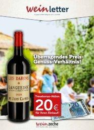Weinzeche Weinletter 6_2018 – Die Kunst des Genießens