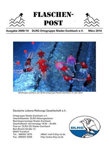 Ausgabe 2009/10 DLRG Ortsgruppe Nieder-Eschbach eV März 2010