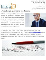 Web design company Melbourne | Indian SEO Melbourne