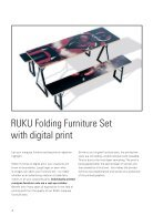RUKUevent Catalogue digital print for folding furniture - 2018 - Page 4