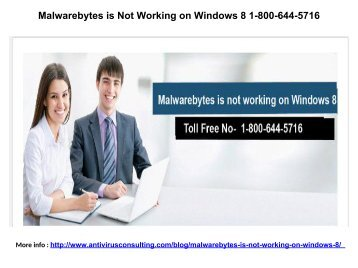 Malwarebytes Anti-Malware Remediation 1-800-644-5716