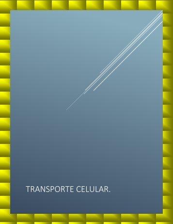 TRANSPORTE CELULAR