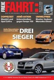DREI SIEGER DREI SIEGER - Freie Fahrt