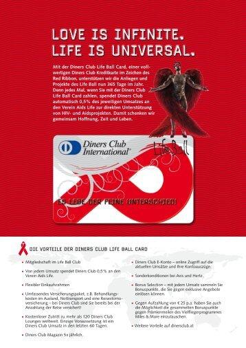 Die Vorteile Der Diners Club life ball CarD - AirPlus