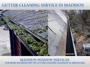 Gutter Cleaning Madison