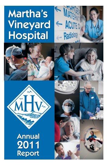 2011 MVH Annual Report - Martha's Vineyard Hospital