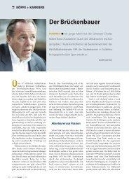 köpfe + karriere  - Botta Management