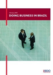 DOING BUSINESS IN BRAZIL - BDO LatAm
