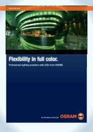 Flexibility in full color. - ALI for all your lamps