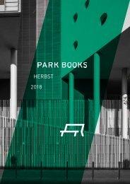 Park Books Vorschau Herbst 2018