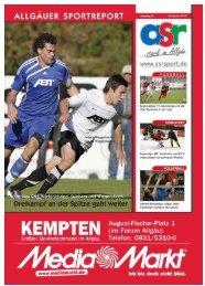 ASR Sport Ausgabe Dezember 2010 - Allgäu Sport Report