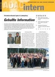 """Neue Aktion bei """"Sicher unterwegs in Hessen"""" - ADAC Ortsclub-Portal"""