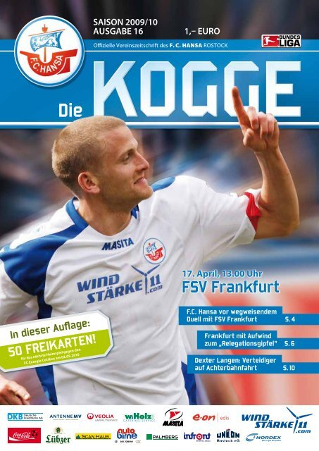 saison 2009/10 ausgabe 16 1 - FC Hansa Rostock