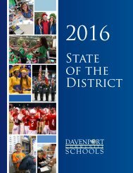 Davenport Community Schools: 2016 State of The District