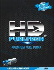 Catálogo de Módulos y Bombas de Combustible HD Fueltech