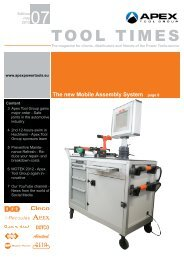 Tool Times 07-2012 - Apex Tool Group – Power Tools