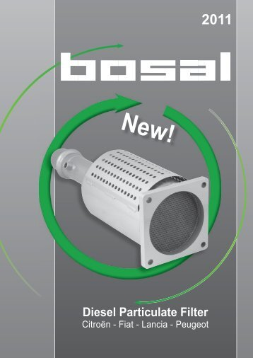 Diesel Particulate Filter - Bosal