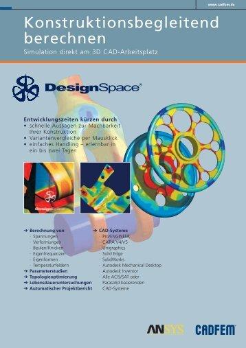 Konstruktionsbegleitend berechnen - Mensch und Maschine CAD ...