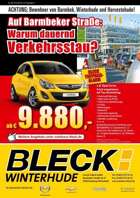 Verkehrsstau? - Autohaus Lensch & Bleck