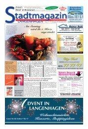 Stadtmagazin Langenhagen, Ausgabe 19 vom 29. November 2012