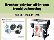 repair brother printer head | Brother Services +61-1800-431-295