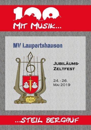 100 Jahre MV Laupertshausen