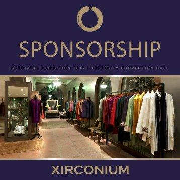Sponsorship Proposal - Xirconium Boishakhi Expo 2017