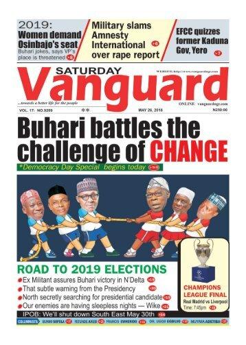 26052018 - Buhari battles the challenge of CHANGE