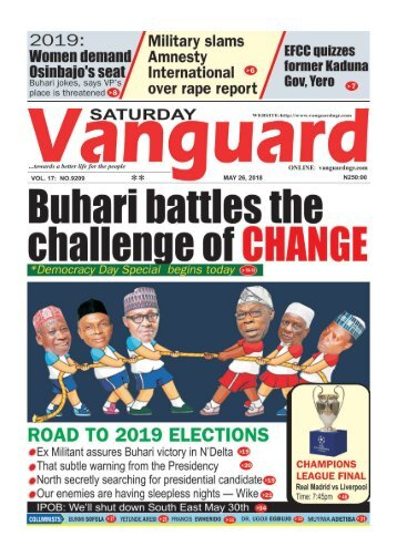 26052018 - Buhari battles the challenge of CHANGE