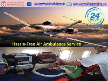 Panchmukhi Air Ambulance Service in Kolkata at lowest charge