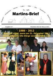 Martins-Chor - Kirchengemeinde Beedenbostel
