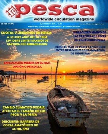 REVISTA PESCA JUNIO 2018