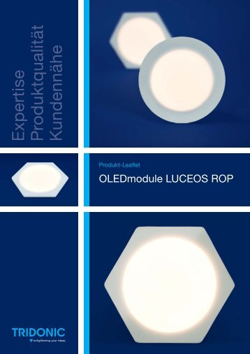 Product leaflet luceos Rop deutsch