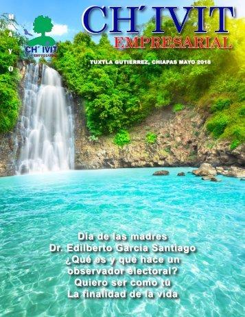 Revista Ch´ivit Empresarial mayo 2018