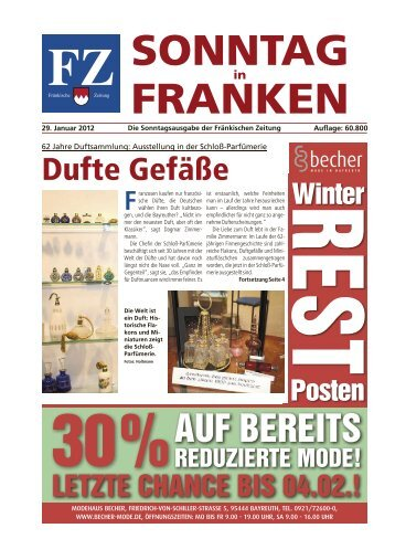 Info - Sonntag in Franken E-Paper