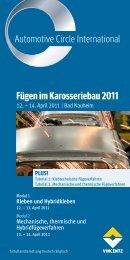 Fügen im Karosseriebau 2011 - Automotive Circle International