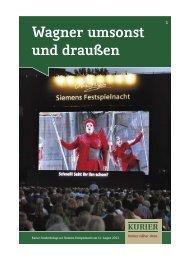 Lageplan zur Siemens-Festspielnacht 2011 - Verlagsbeilagen des ...